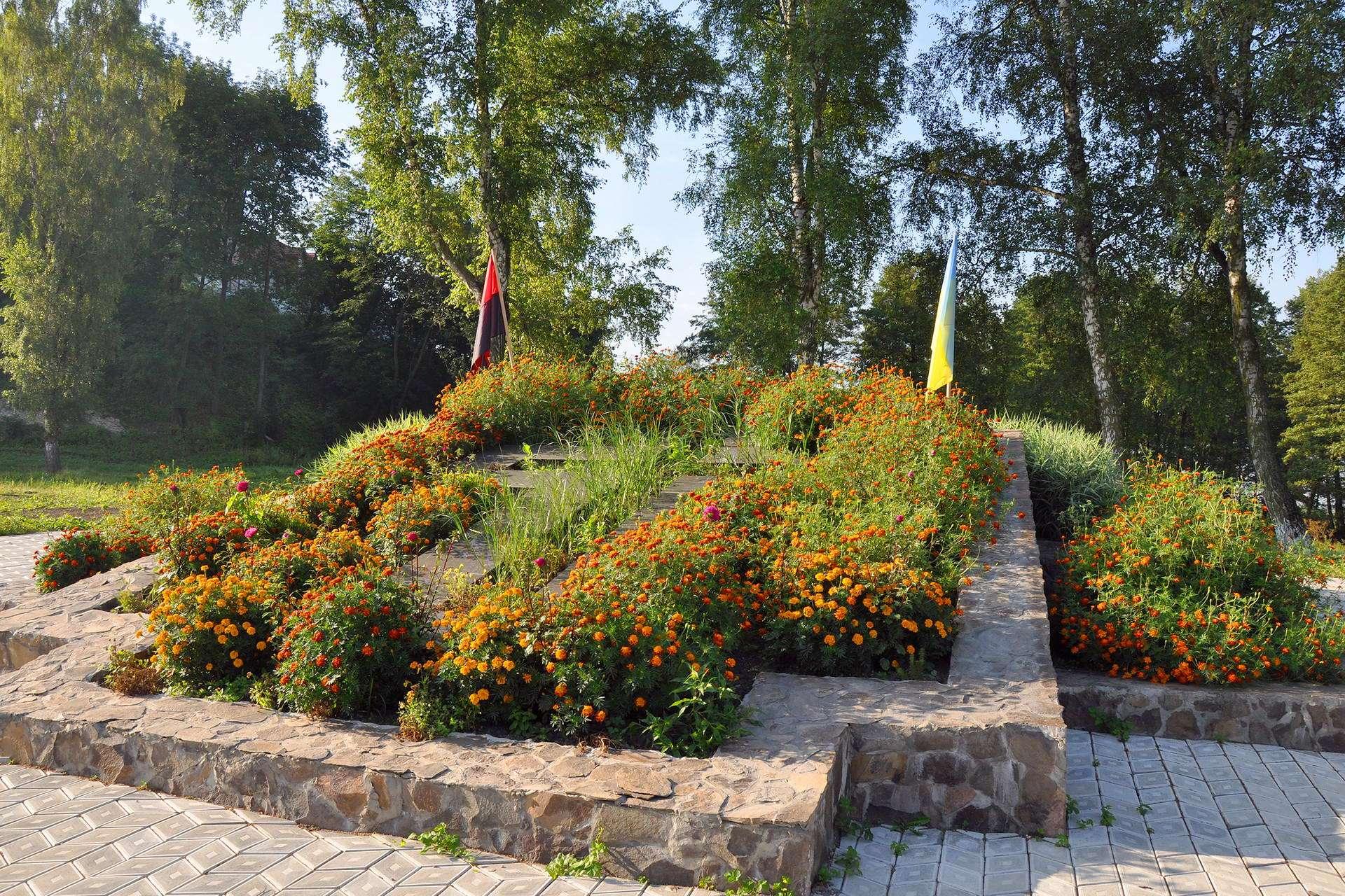 Парк пам'яті Незалежності в смт Більшівці