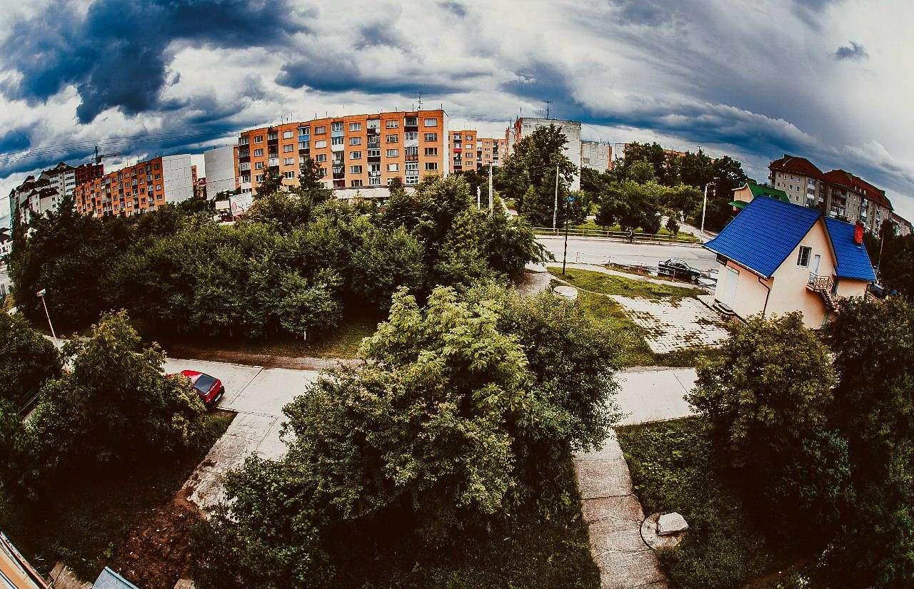 смт Богородчани, панорама