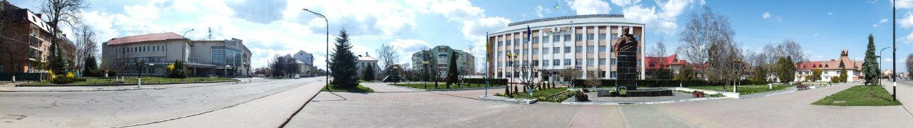 Панорамне фото смт Богородчани