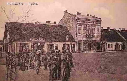 м. Бурштин, початок XX ст.