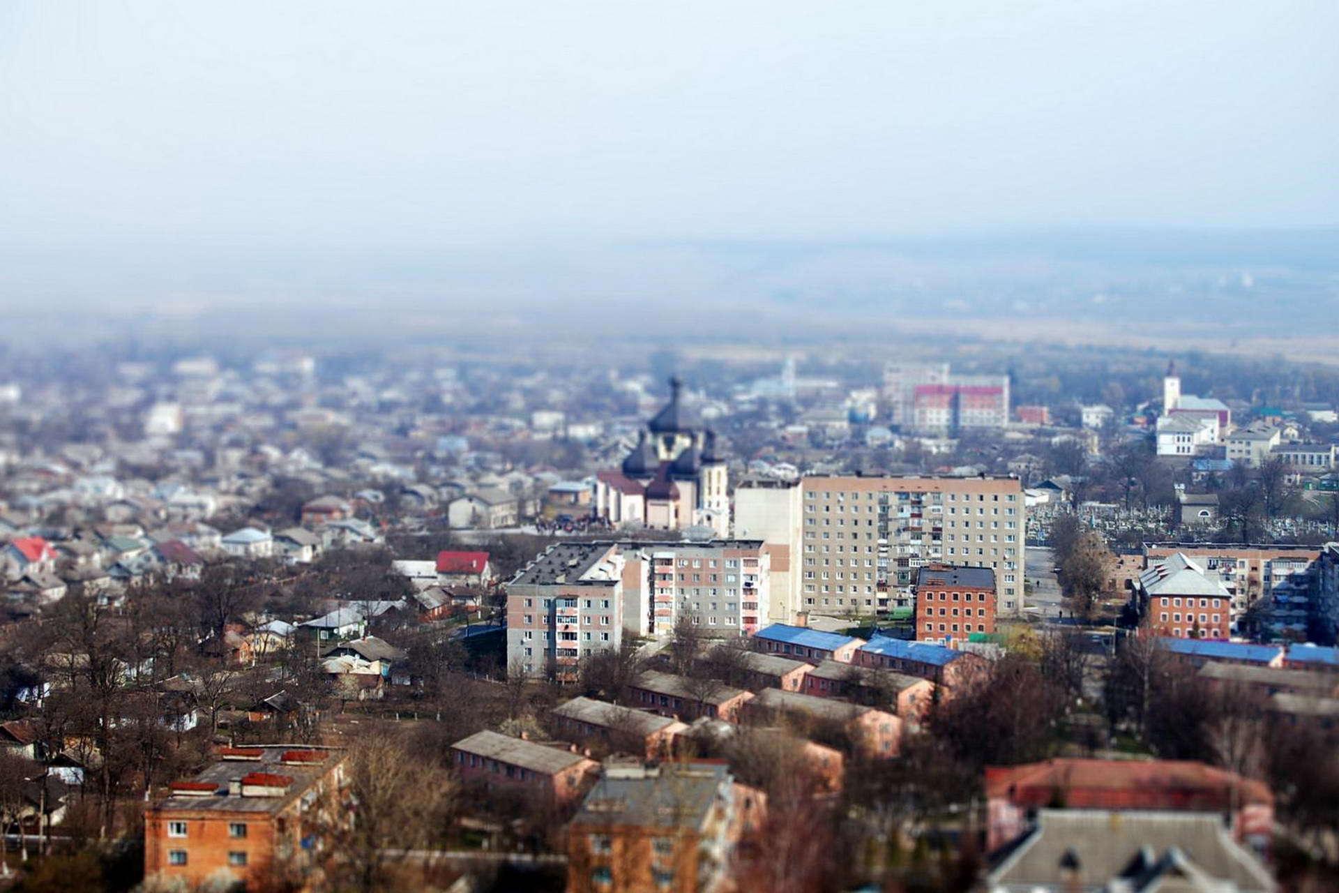 м. Бурштин, панорама