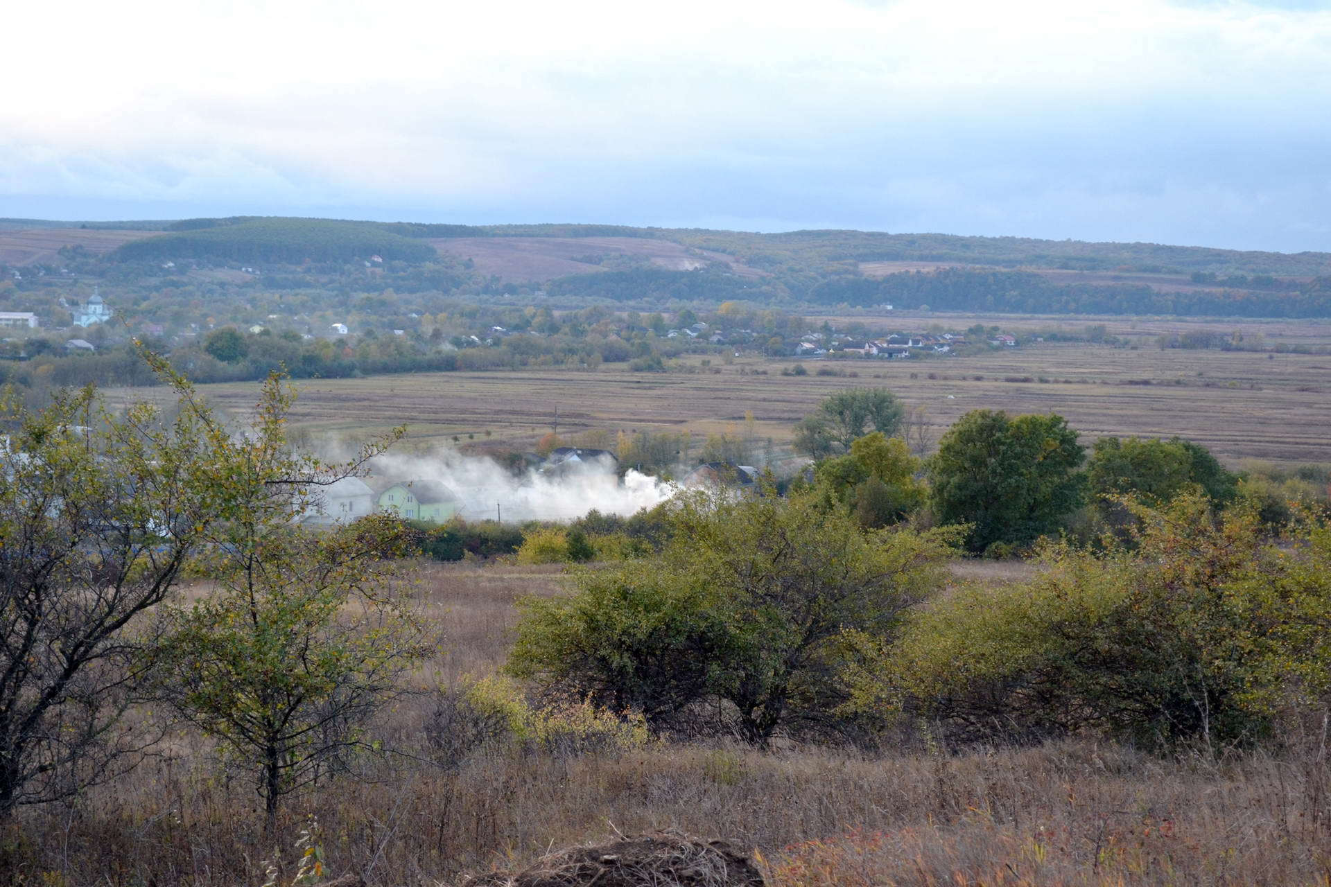 Село Дубовцы, панорама