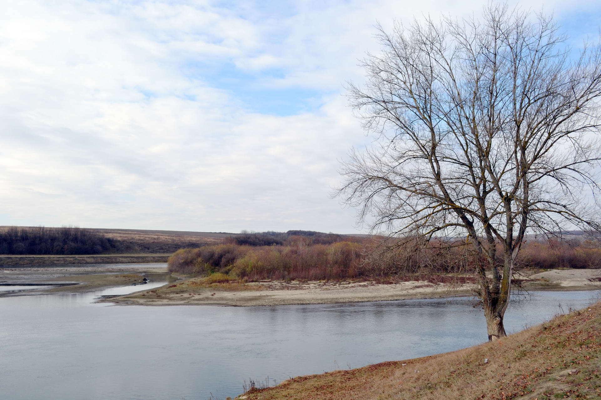 с. Дубовцы, панорама реки Днестр