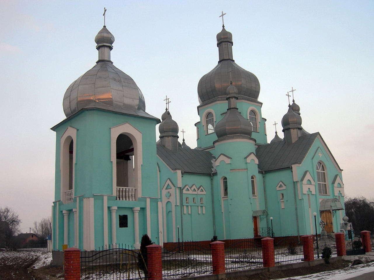 с. Дубовцы, церковь Рождества Святой Богородицы