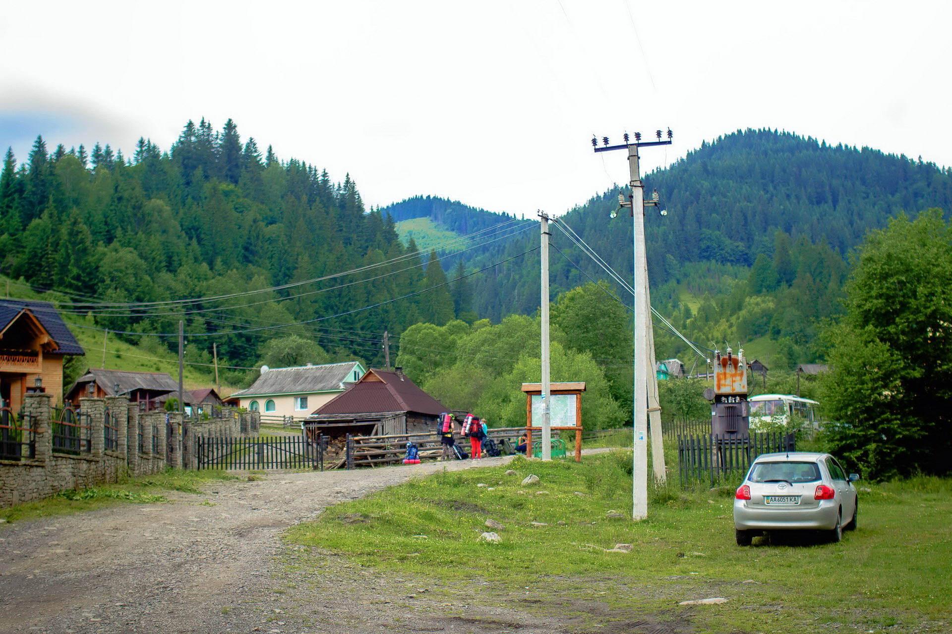 Туристичне село в Карпатах - Дземброня