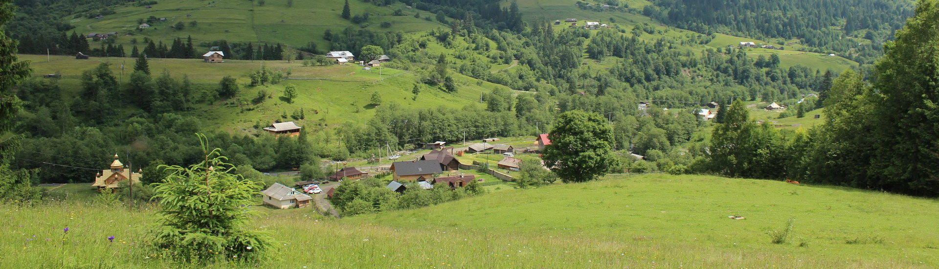 Дземброня - туристичне село в Карпатах