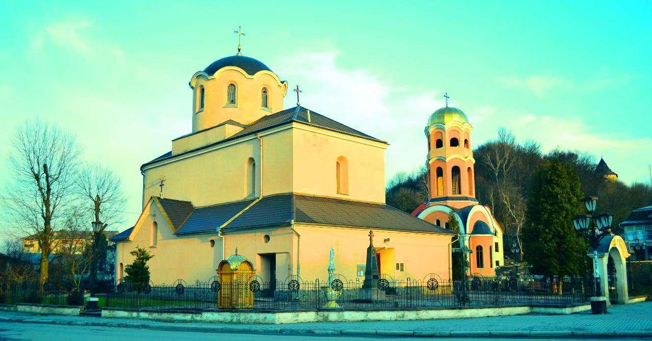 Центральна частина міста Галич