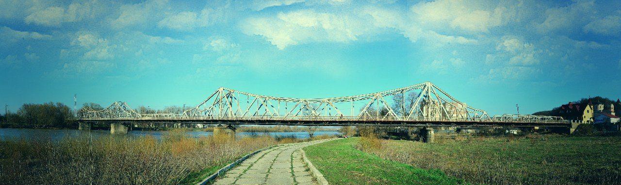 Міст через р. Дністер в Галичі