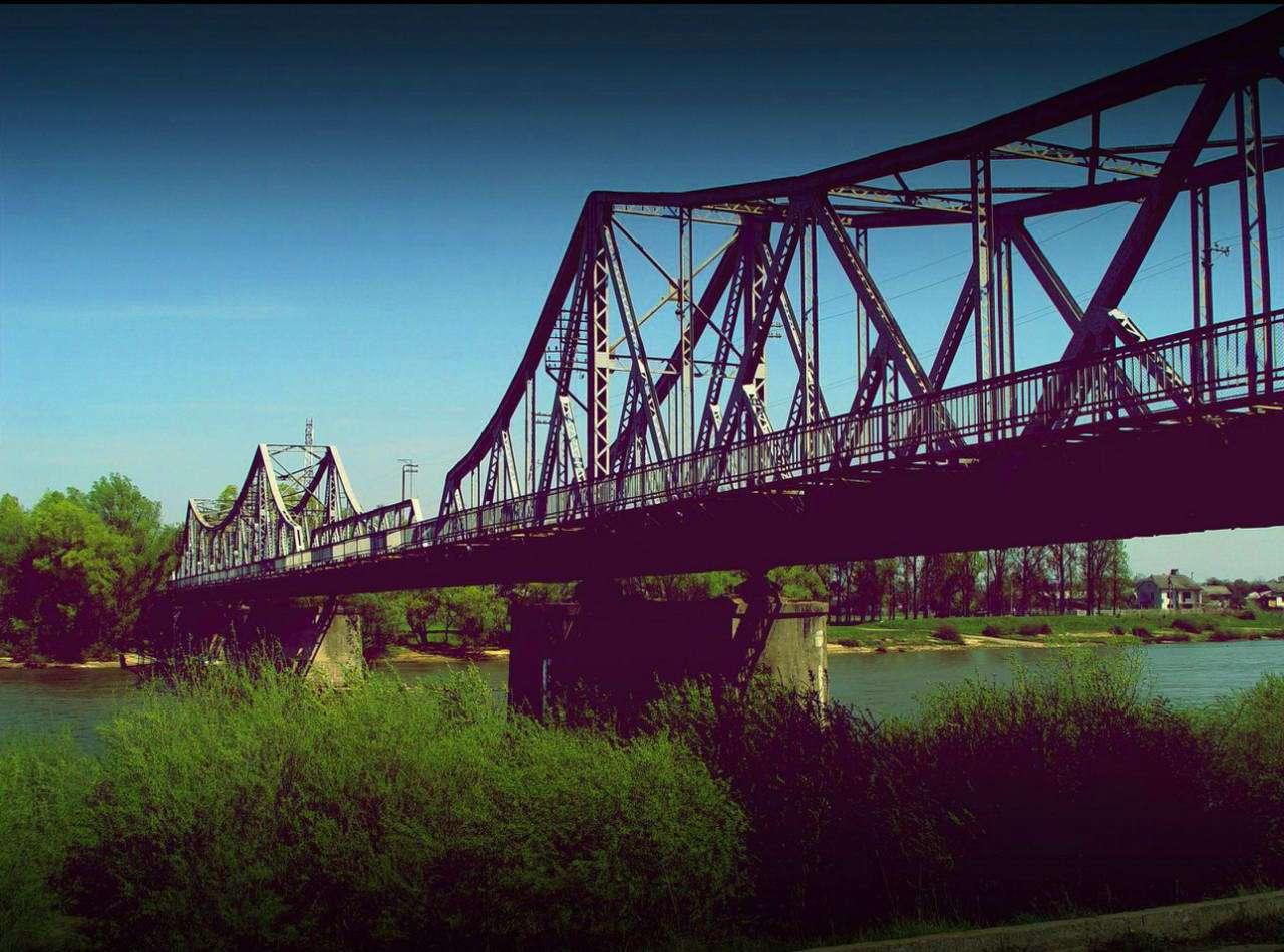 Місто Галич, міст через р. Дністер