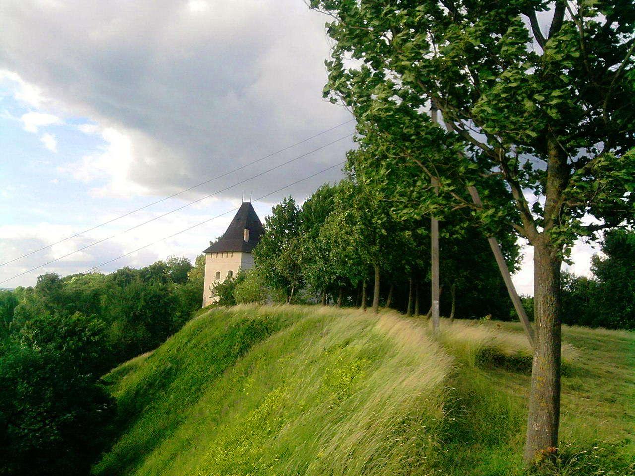 Замок Старостинський в місті Галич