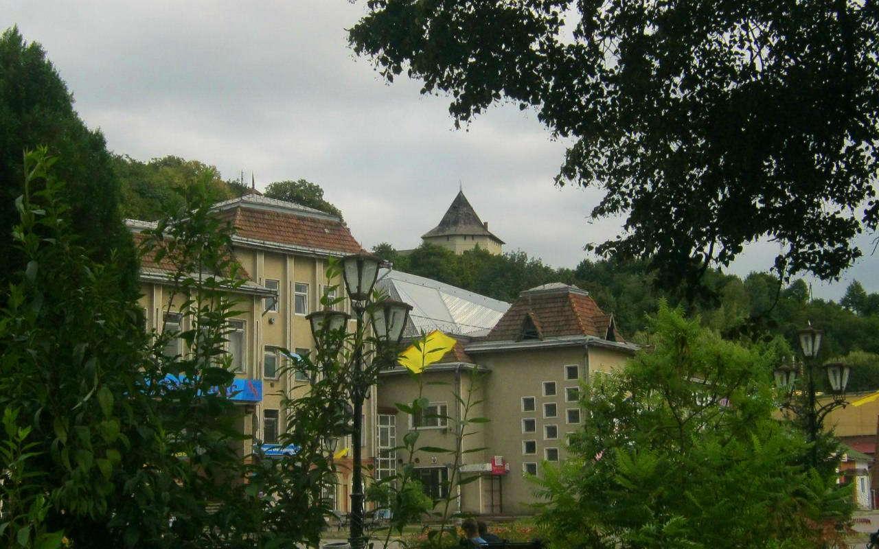 Вид на Галицький (Старостинський) замок