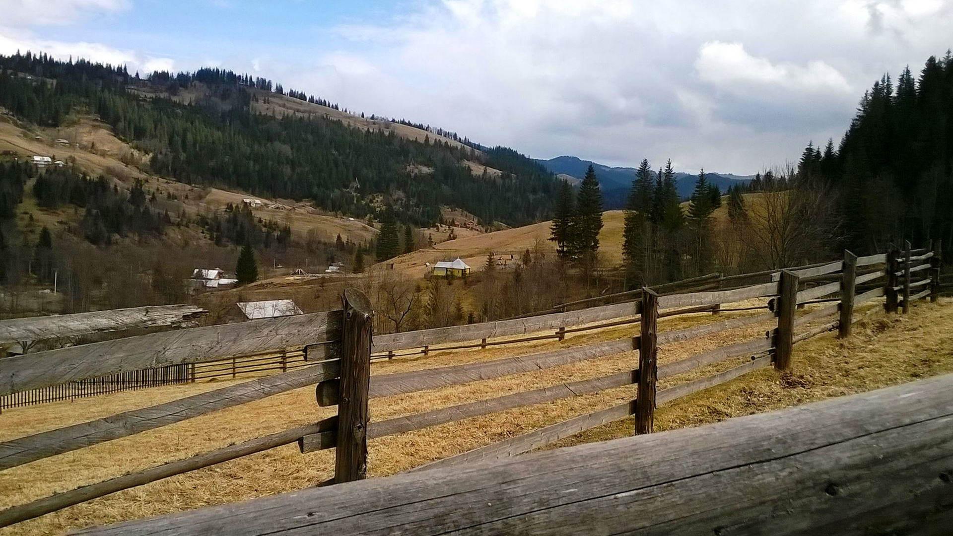Карпатське гірське поселення Ільці