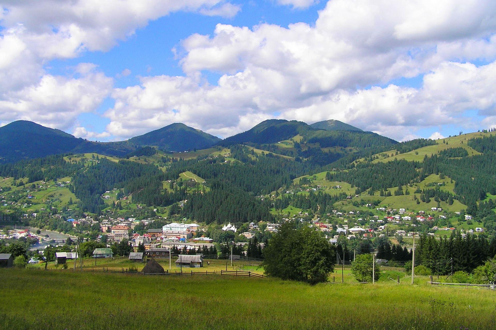 Ільці - карпатське гірське поселення