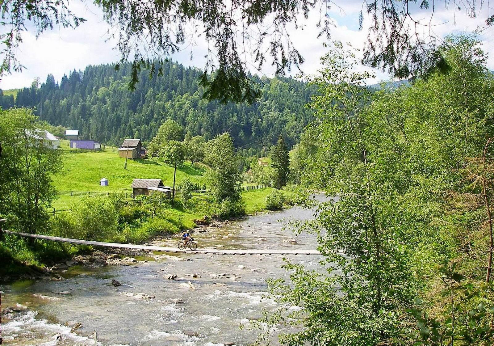 Гірське село Ільці