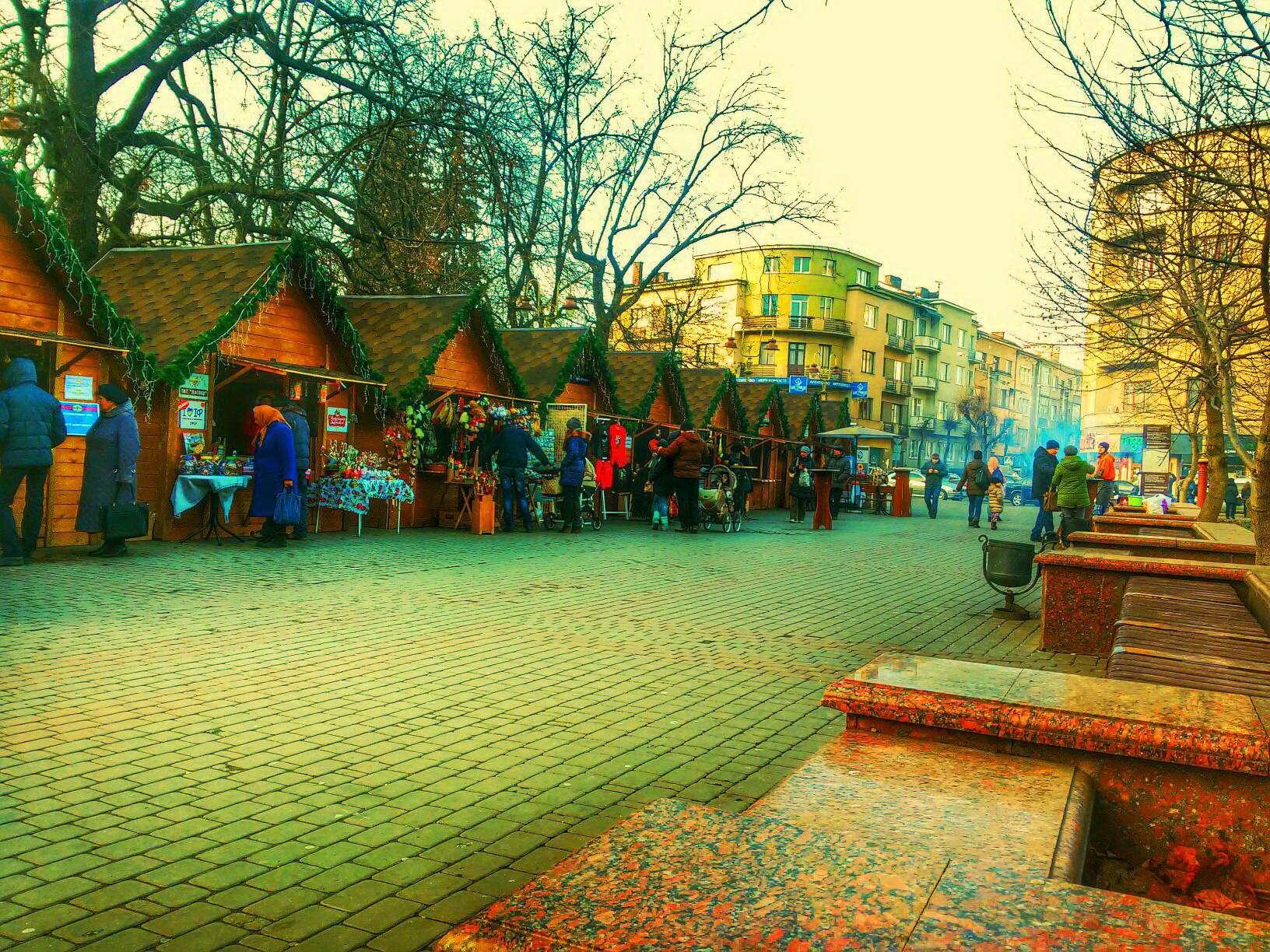 Центральна частина міста Івано-Франківськ