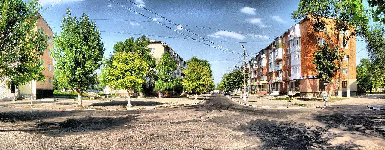 м. Калуш, панорама
