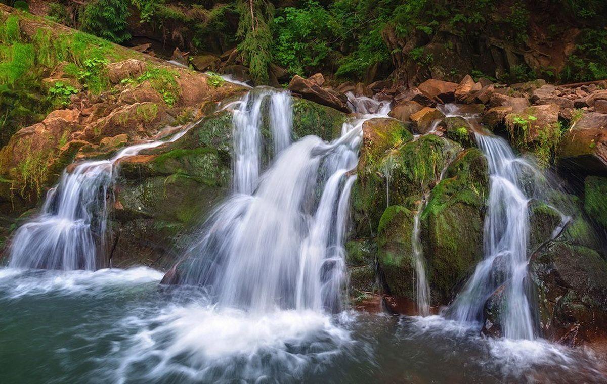 Водопад Каменецкий