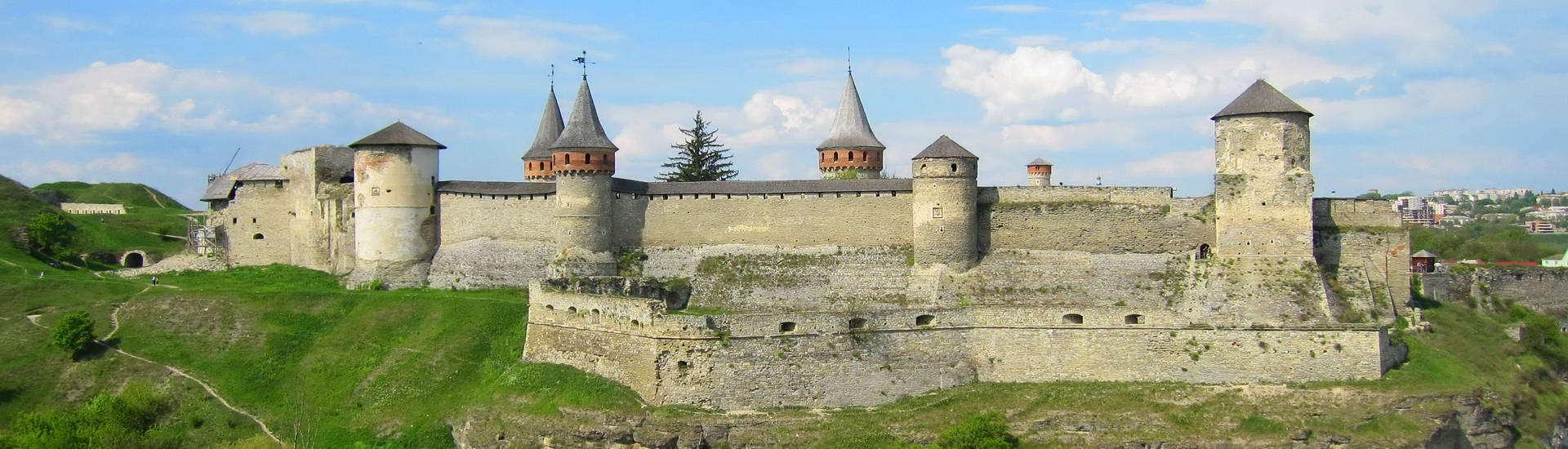 Кам'янець-Подільська фортеця, панорама