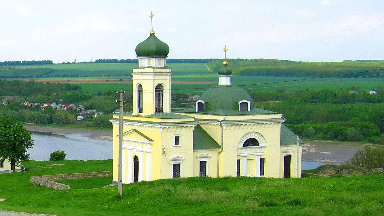 Хотинська фортеця, церква Олександра Невського
