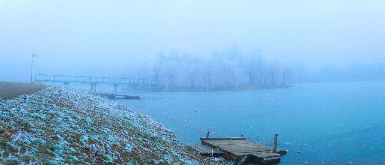 Панорама Коломийського озера