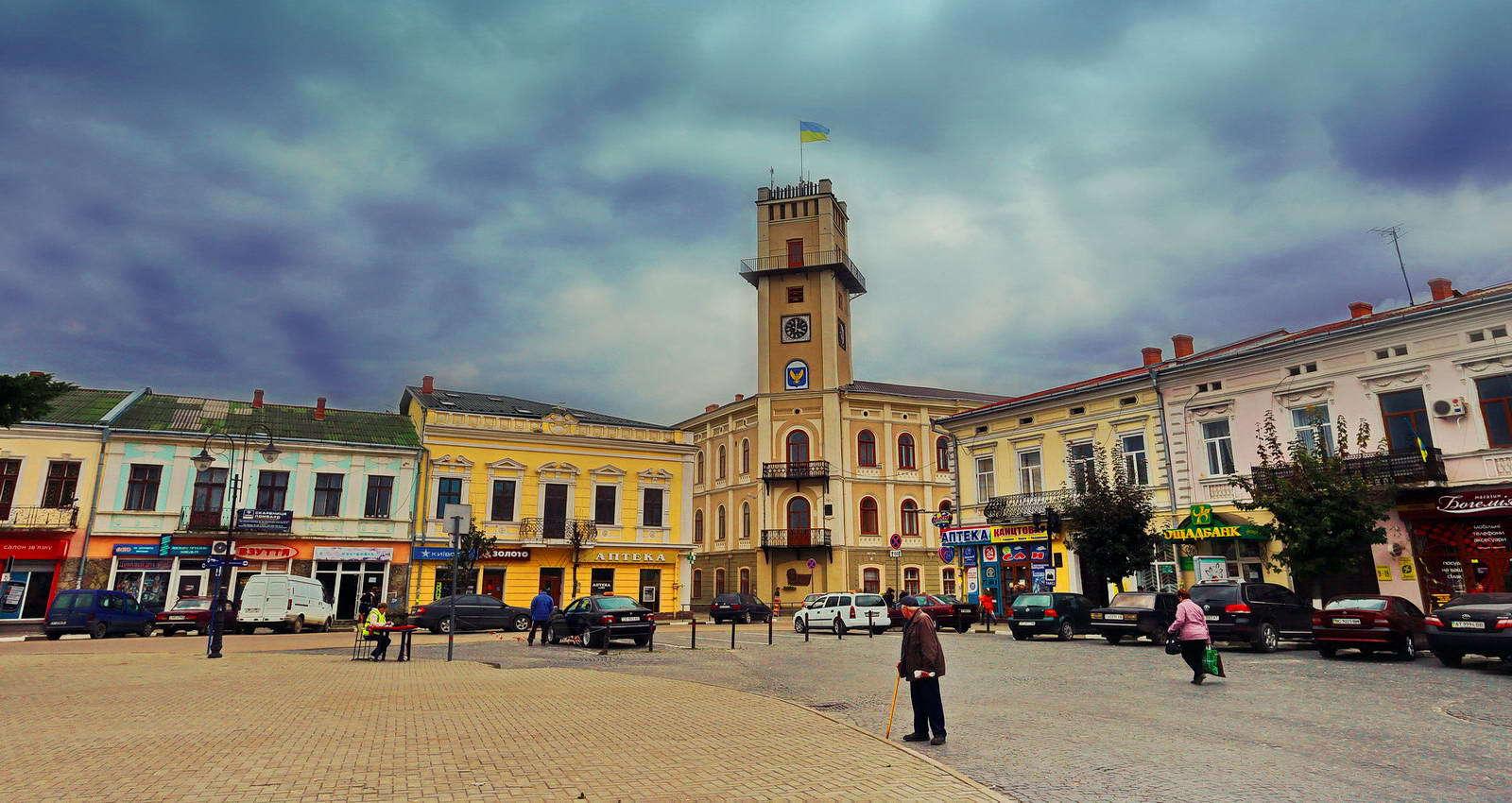 Площа Ринок, місто Коломия