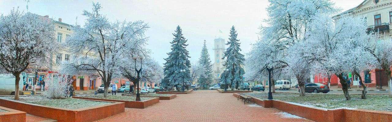 Площа Ринок в місті Коломия