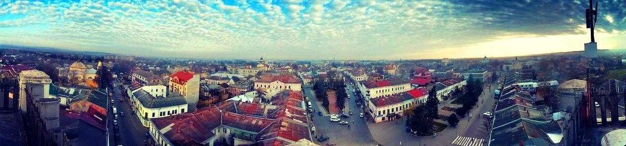 Панорамний вид на місто Коломия
