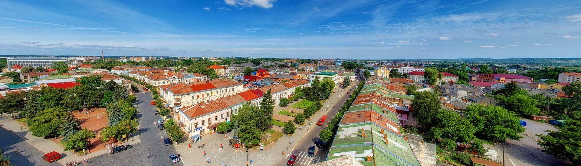 Панорама міста Коломия