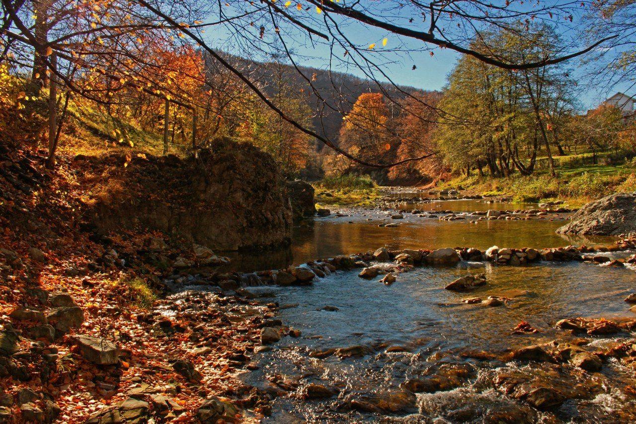 Живописный пейзаж г. Косов