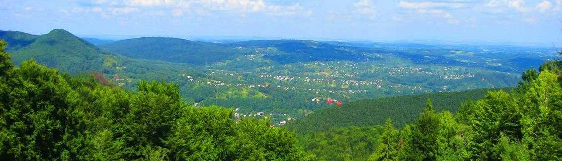 м. Косів, панорама
