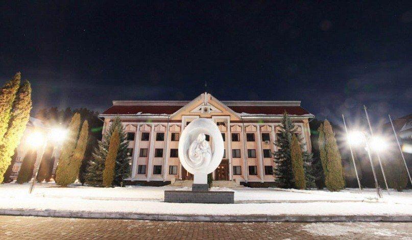 Центральная часть города Косов