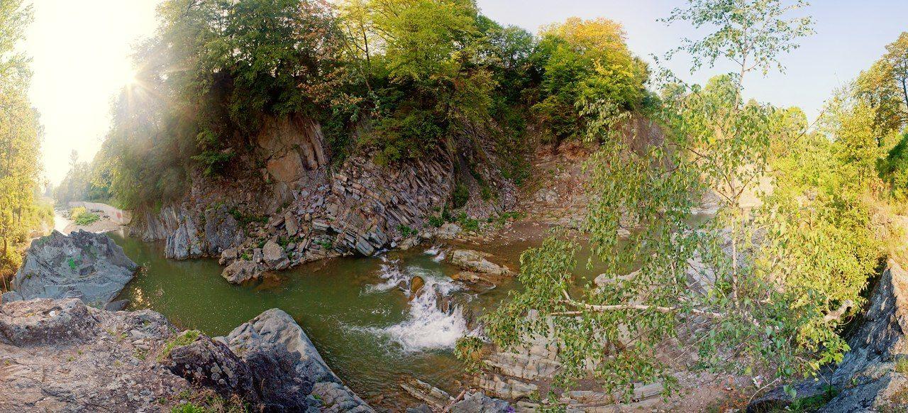 Городов Косов, каскады реки