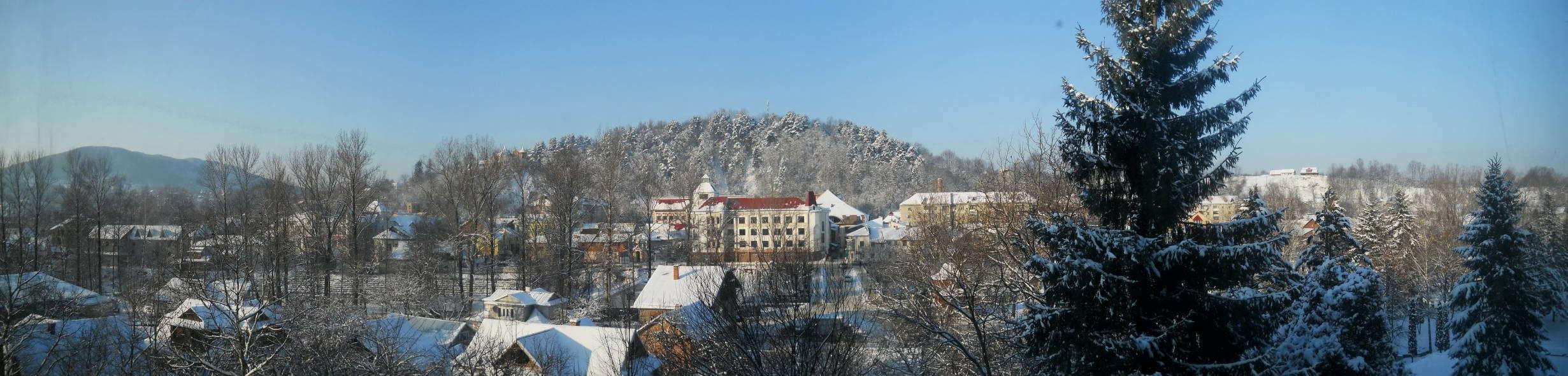 Панорама центра Косова