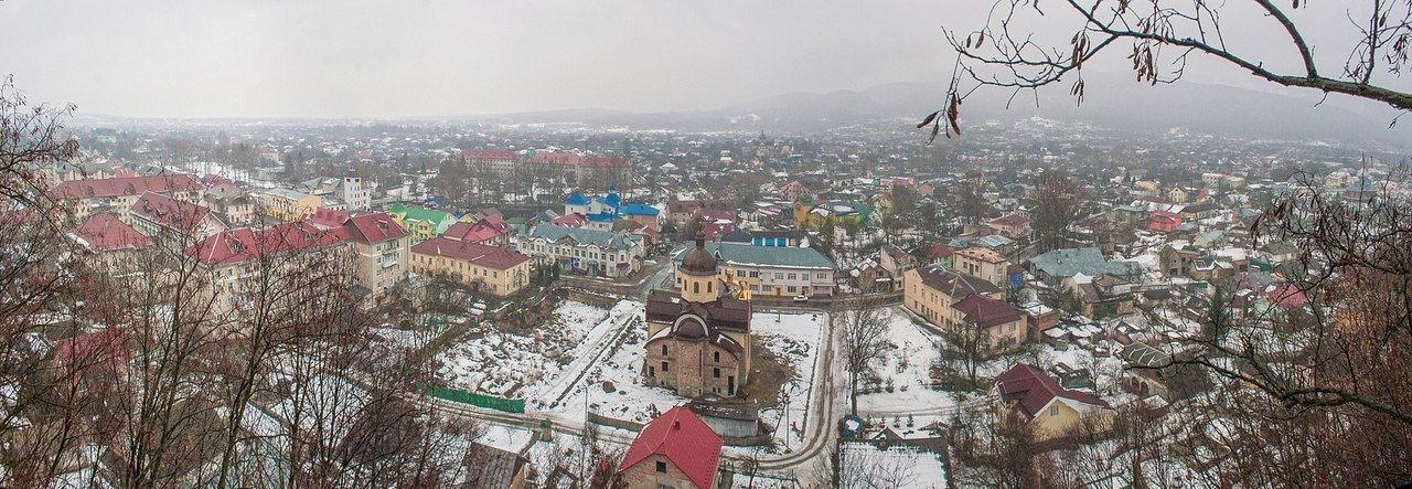 Косовская панорама города