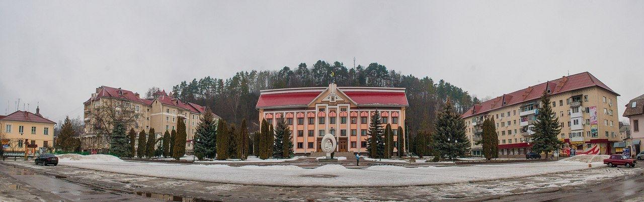 Зимняя панорама, г. Косов