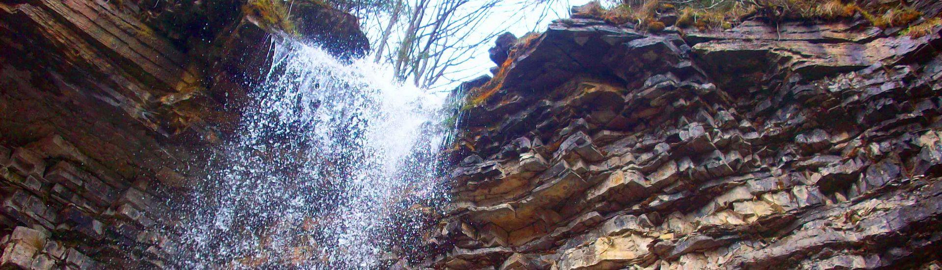 Водоспад Крапельковий, масив Ґорґани