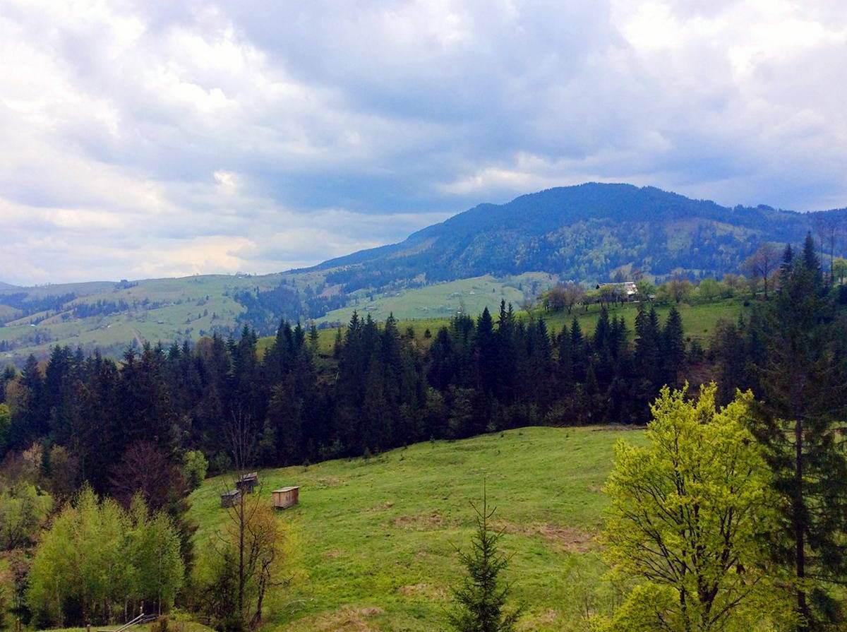 Гірське село на Прикарпатті - Красник