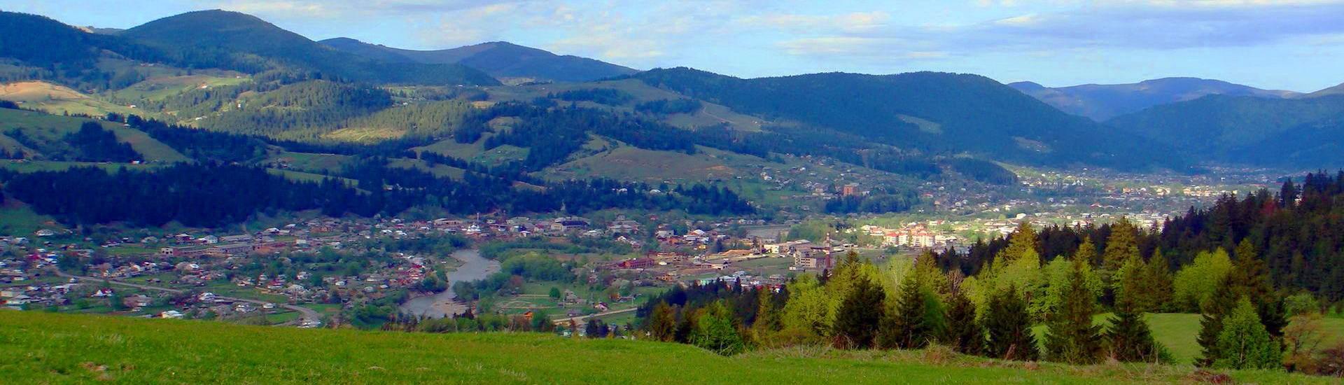 Карпатське гірське село Красник