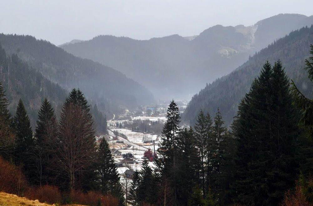 Криворівня - гірське село в Карпатах