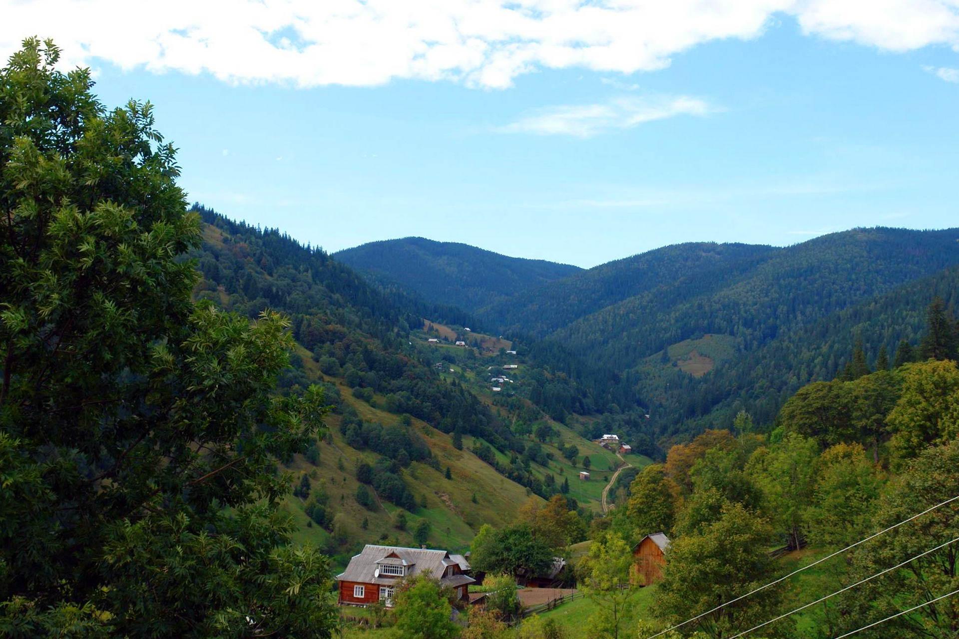 Верховинщина, село Криворівня