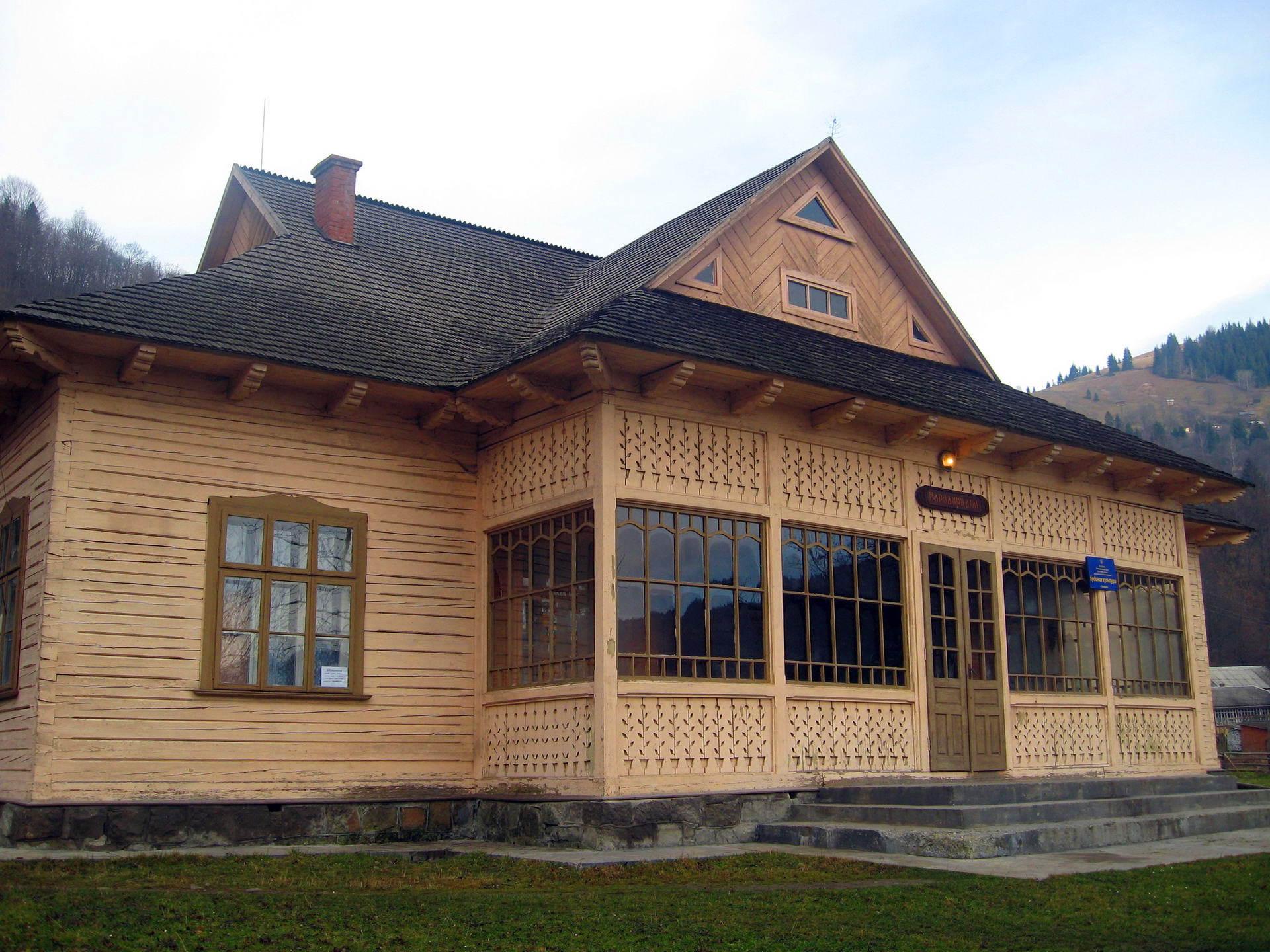 с. Криворівня, дім культури