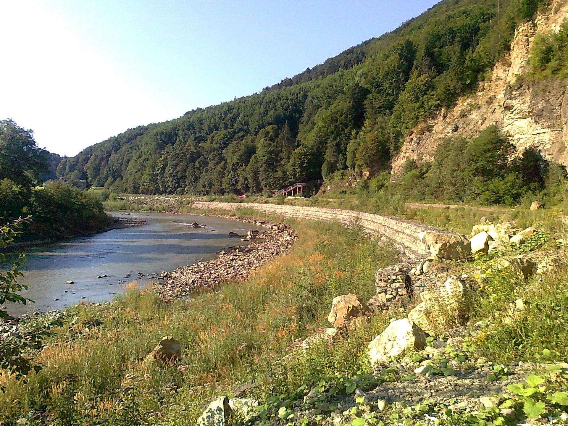 На околицях селища Кути, Косівщина