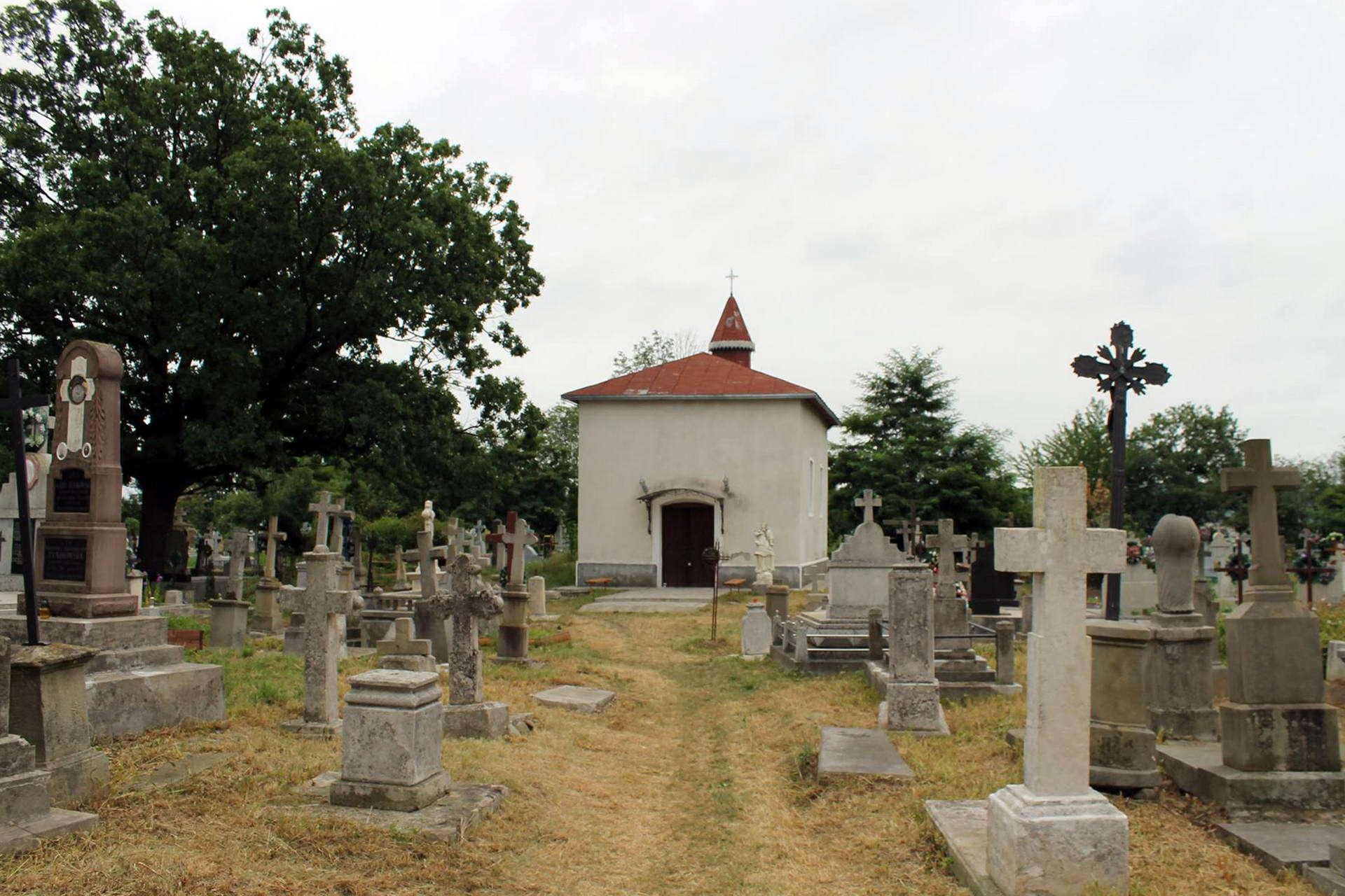 Косівський район, цвинтар в смт Кути