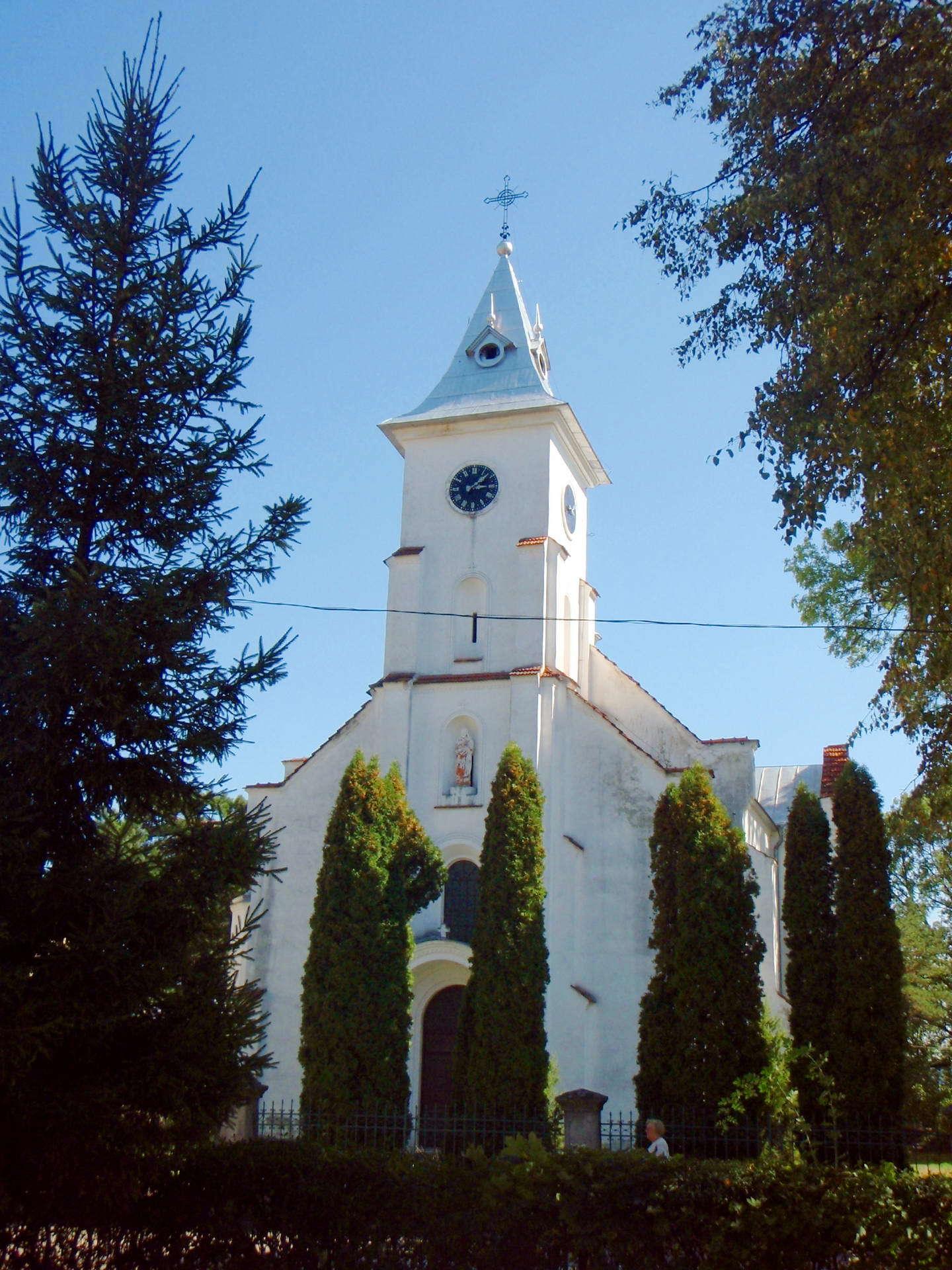 Косівський район, польський костел в смт Кути