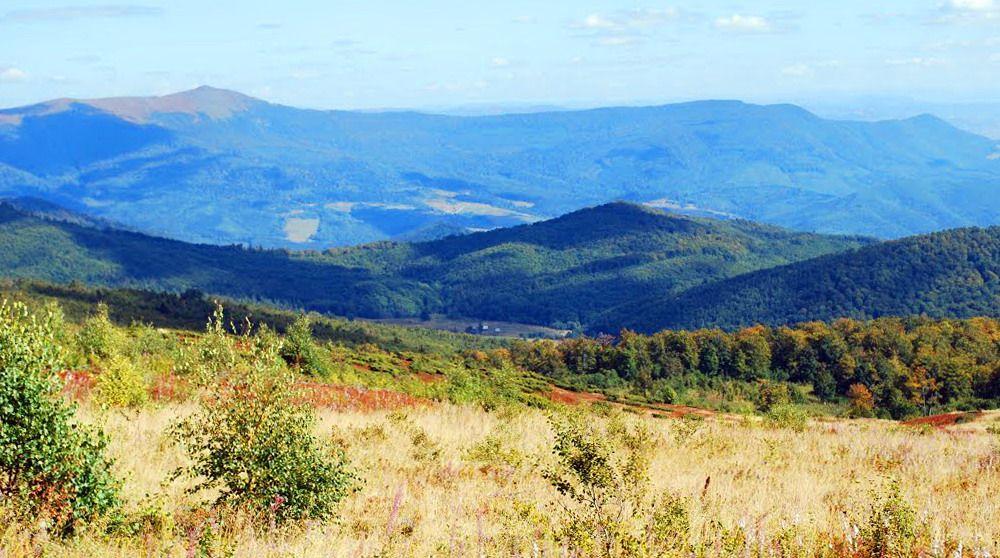 Закарпатська область, маршрут полониною Руна