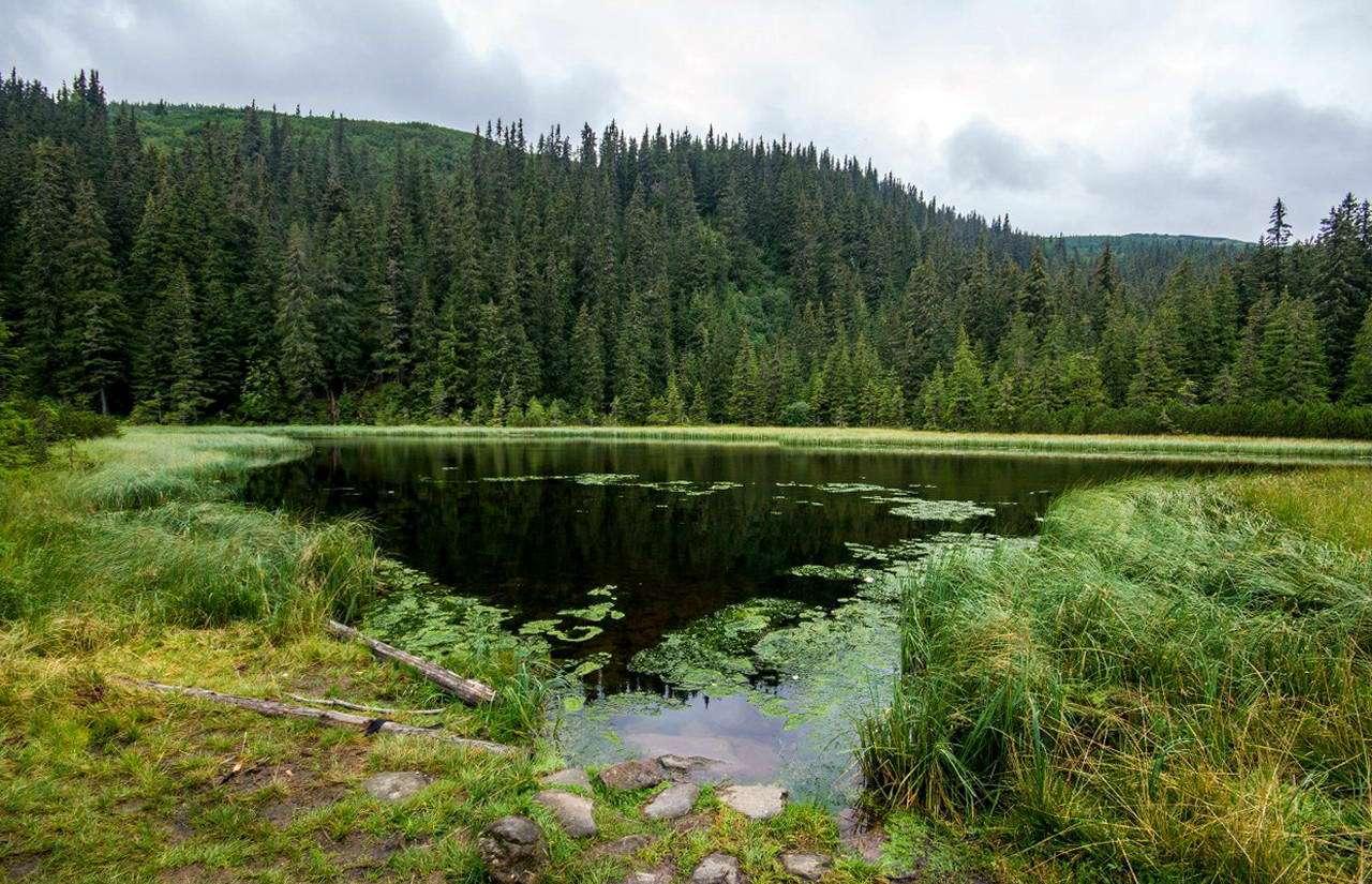 Маршрут на гору Піп Іван Чорногірський, озеро Марічейка