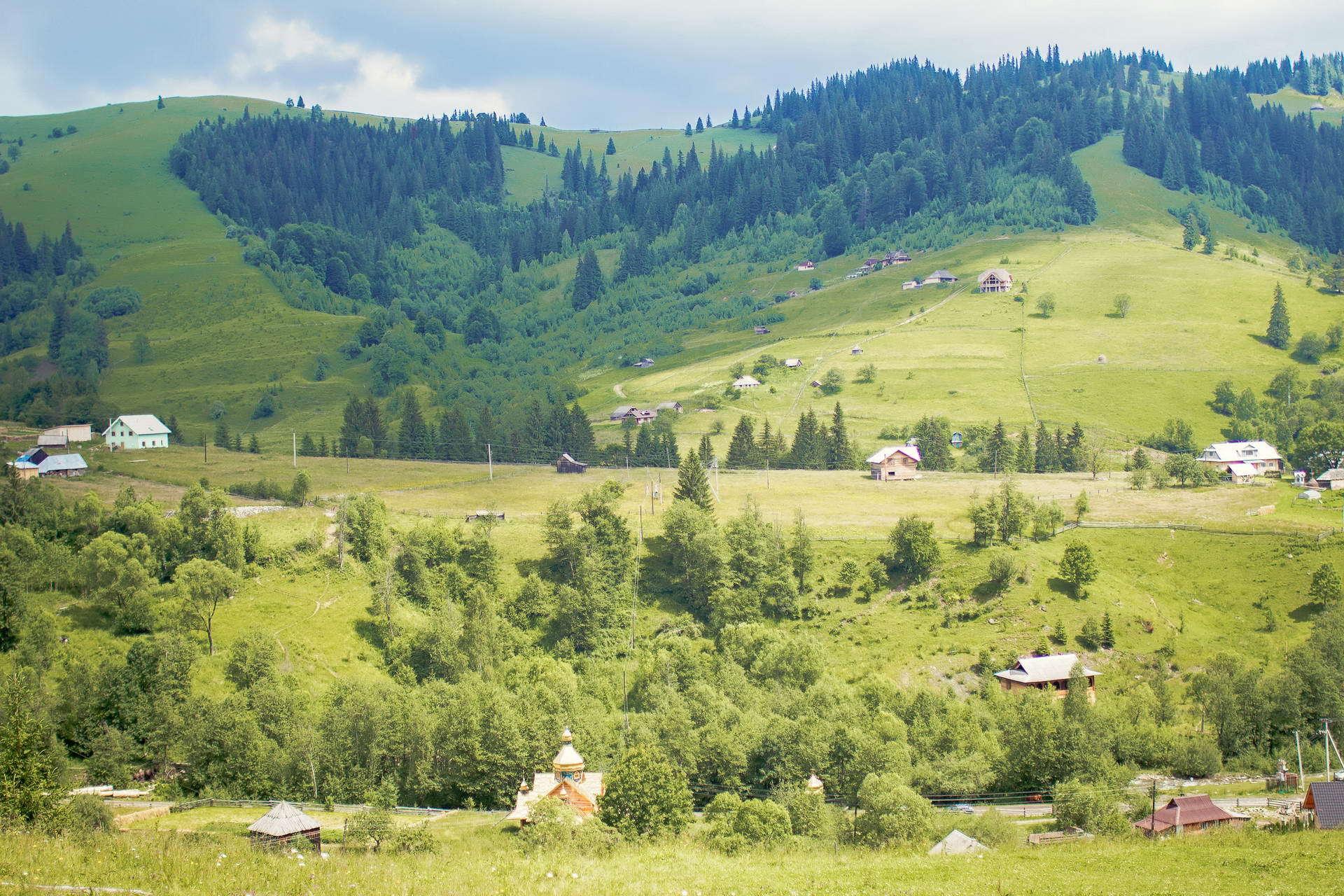 с. Дземброня, маршрут Чорногорою
