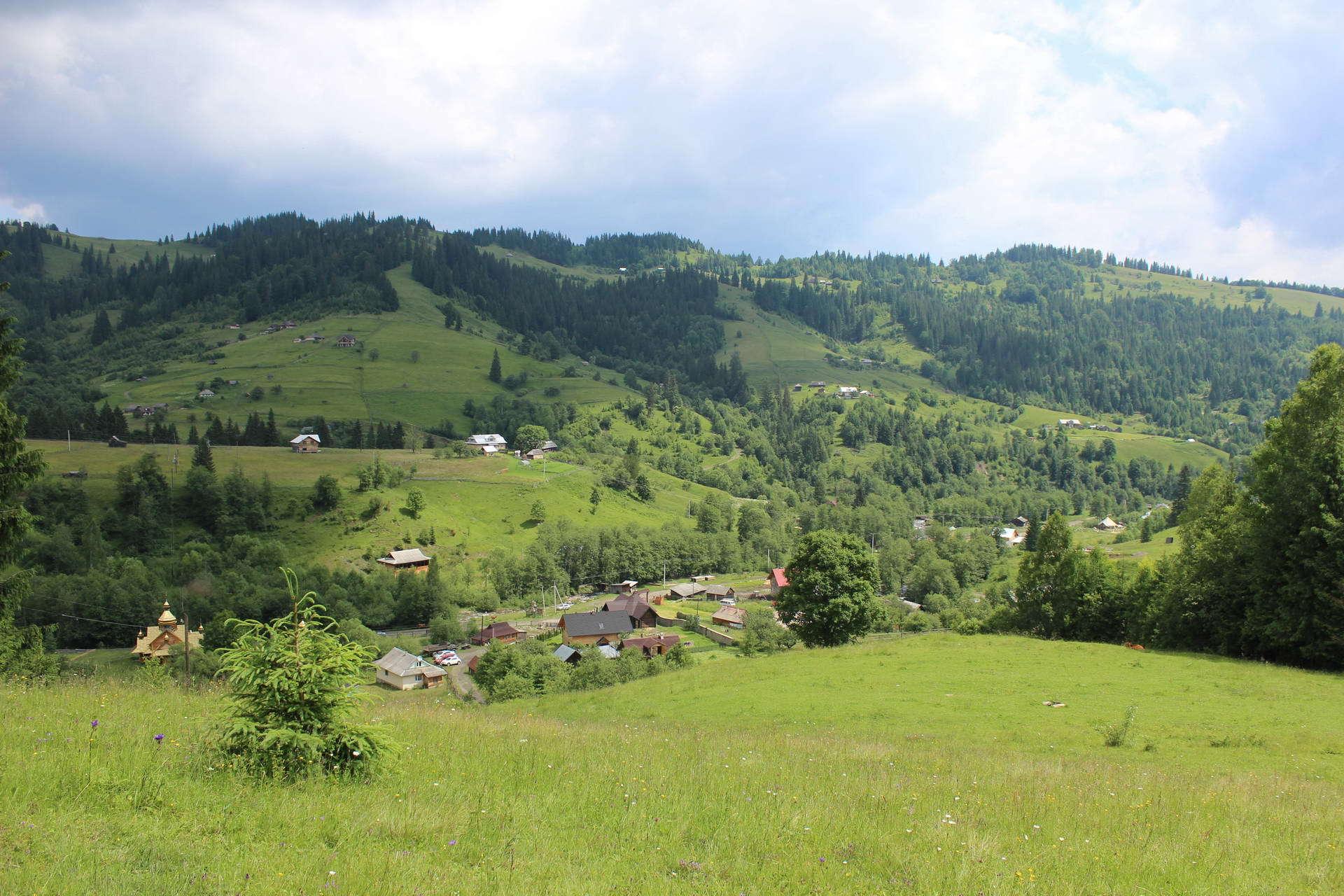 с. Дземброня, маршрут Чорногірським хребтом