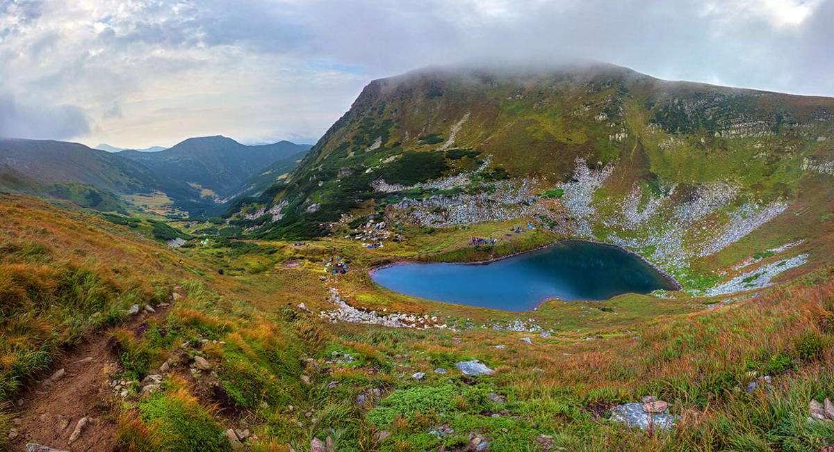 Озеро Бребенескул, маршрут Чорногірським хребтом