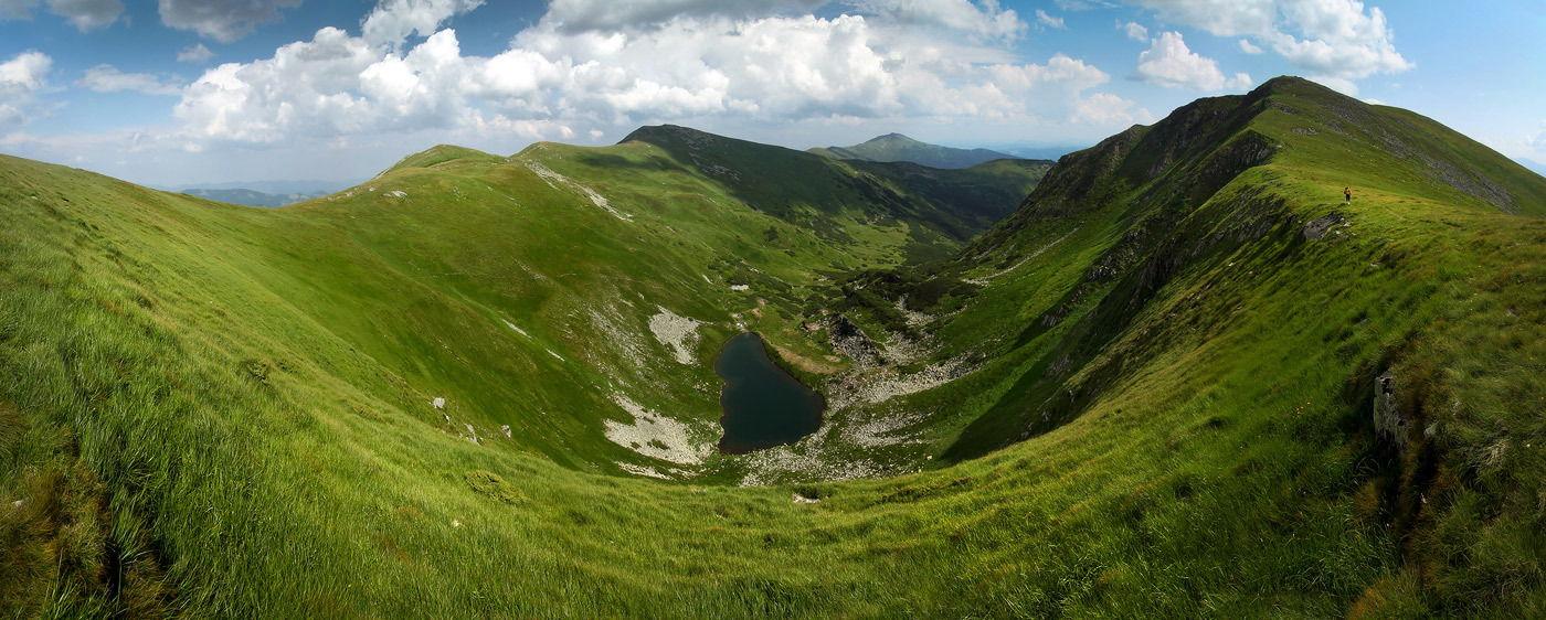 Маршрут Чорногорою, озеро Бребенескул